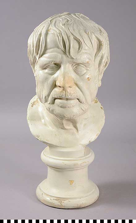Photo of Plaster Cast: Bust of Seneca or Hesiod