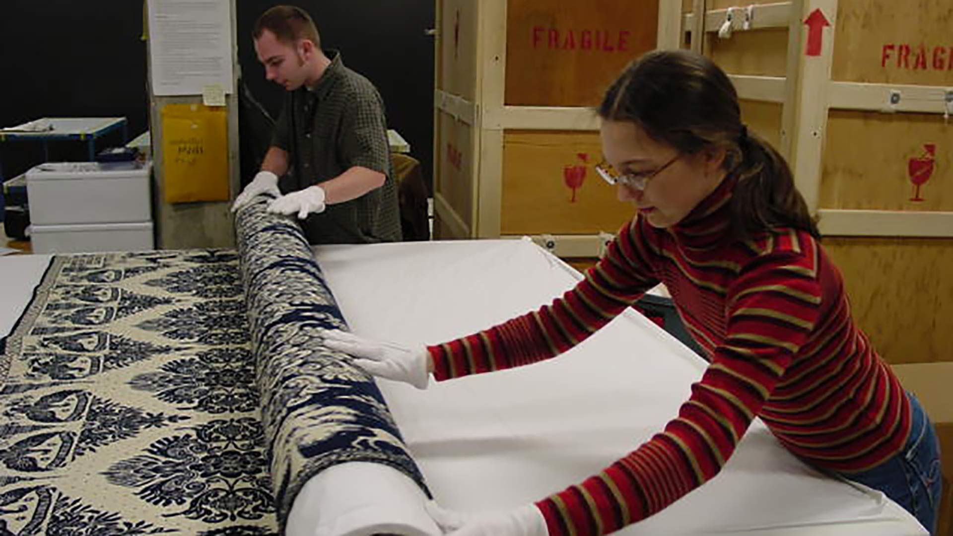 Behind the Scenes: Textile Rolling overview image