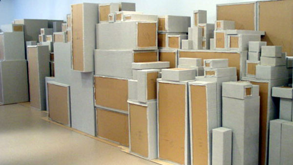 boxes in stack