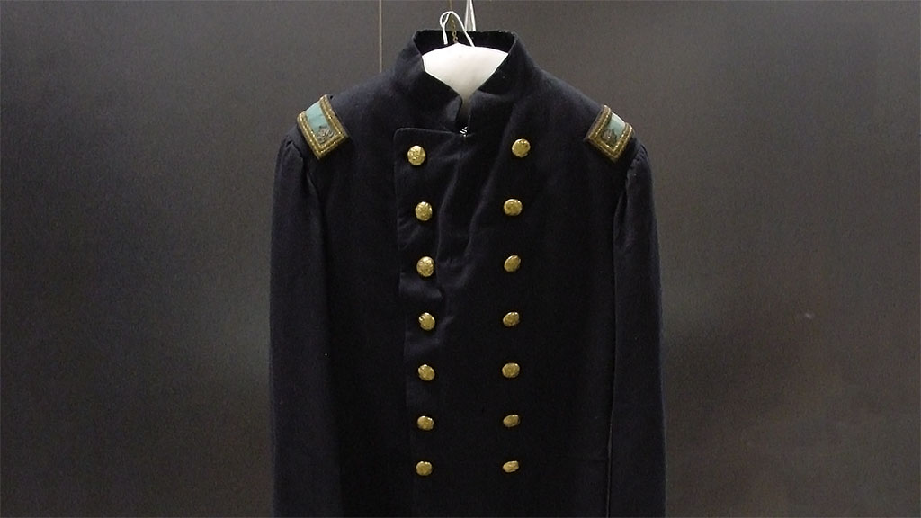 Featured Object: Civil War U.S. Army Uniform: Lt. Col.'s Full Dress Coat
