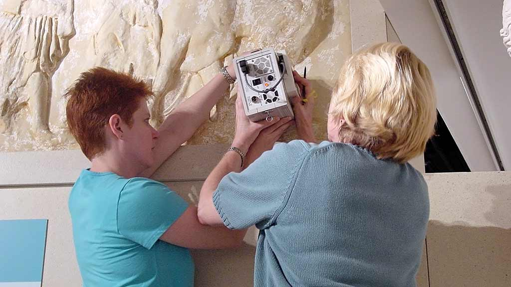 PIMA technology used in artifact conservation