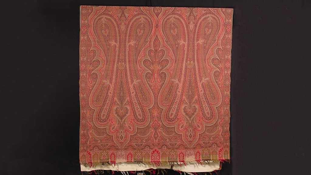 New Acquisition: Kashmir Paisley Shawl