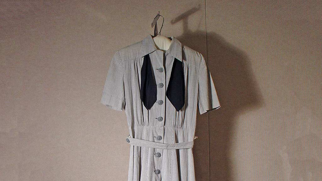 Featured Object: WAVES Uniform Dress, Tie and Belt