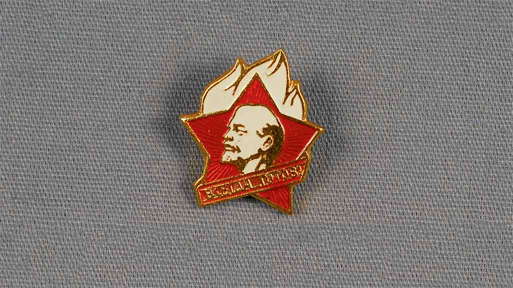 Featured Object: Soviet Commemorative Pin
