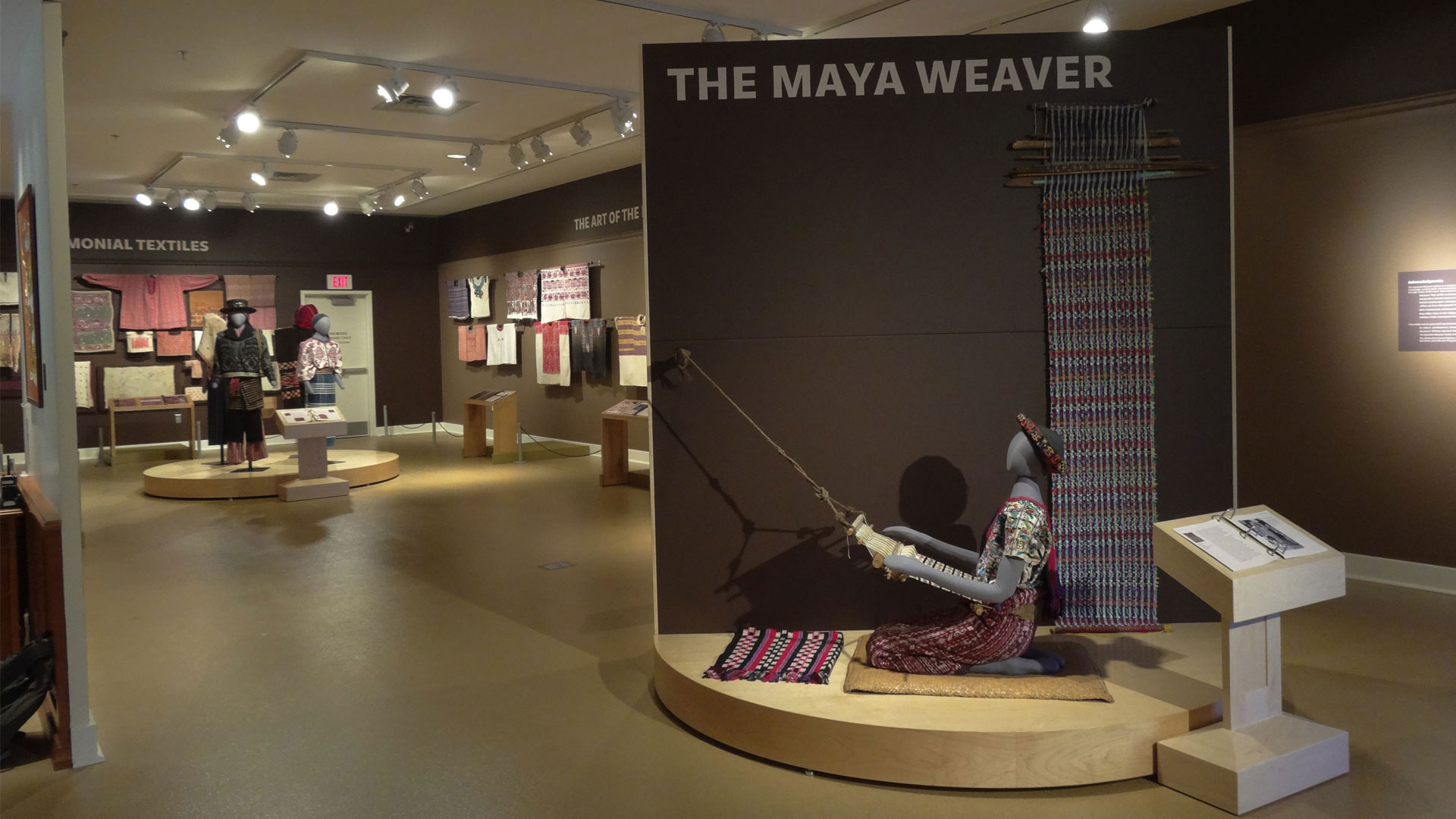 Exhibit Preview: Artists of the Loom: Maya Weavers of Guatemala overview image