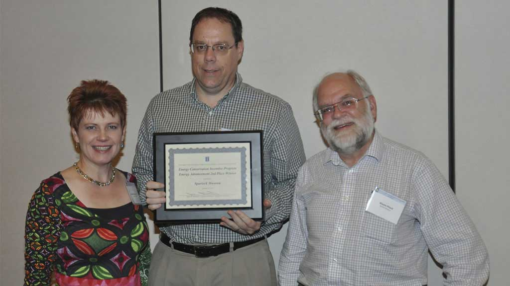 Museum receives energy conservation award