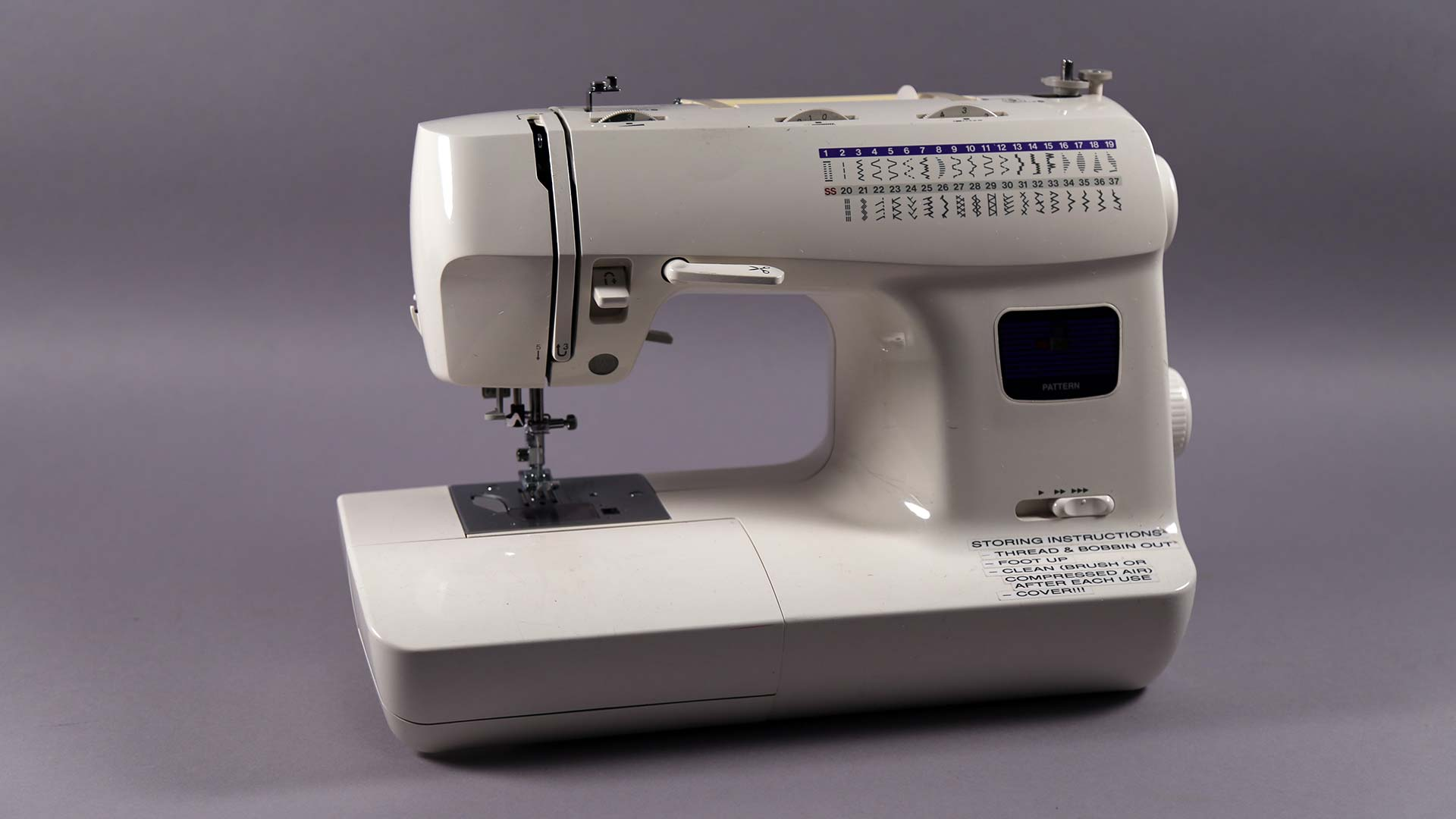 RIP Faithful Sewing Machine (2000—2016) overview image