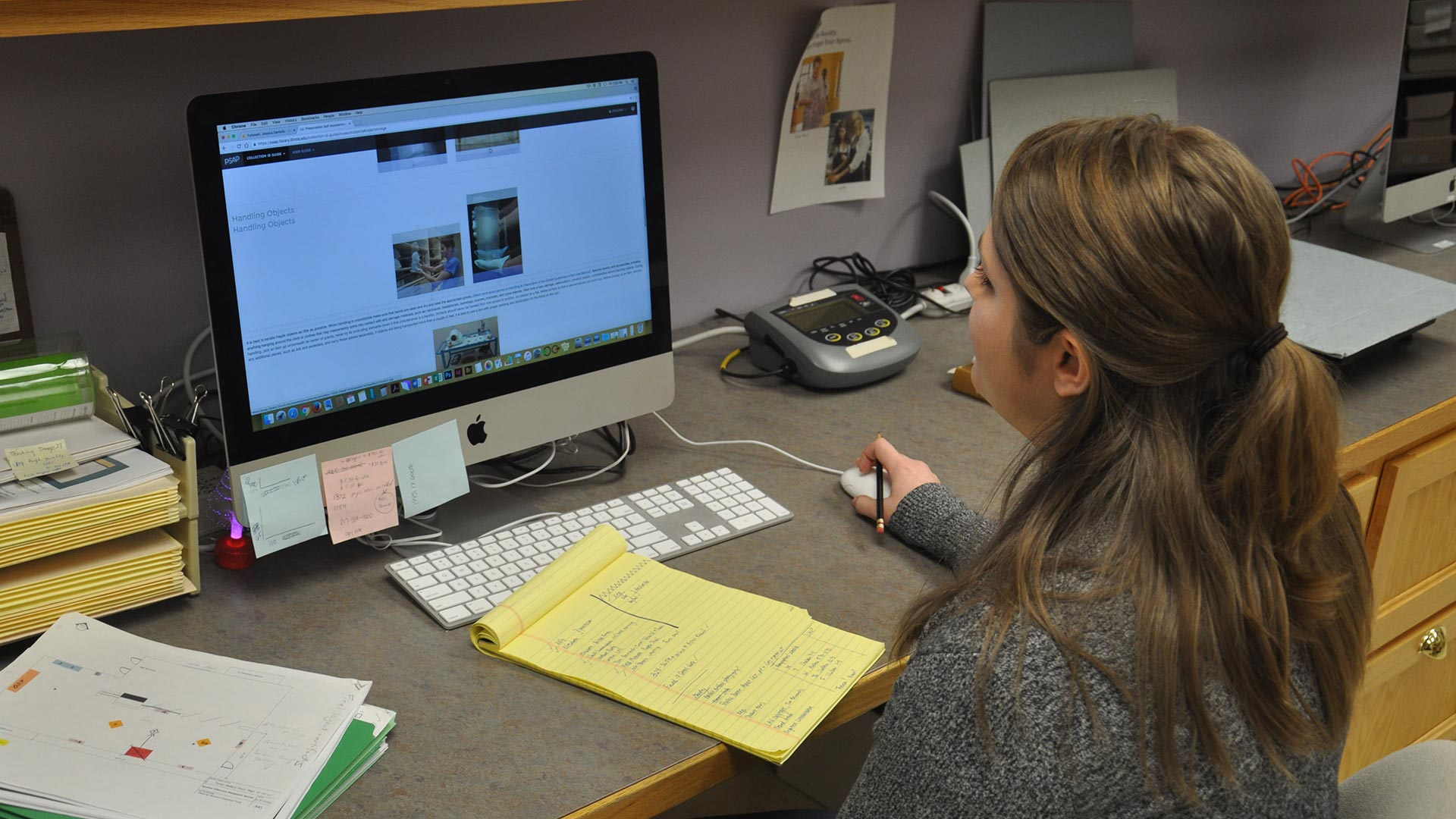 Spurlock and University Library collaborate on online preservation tool overview image