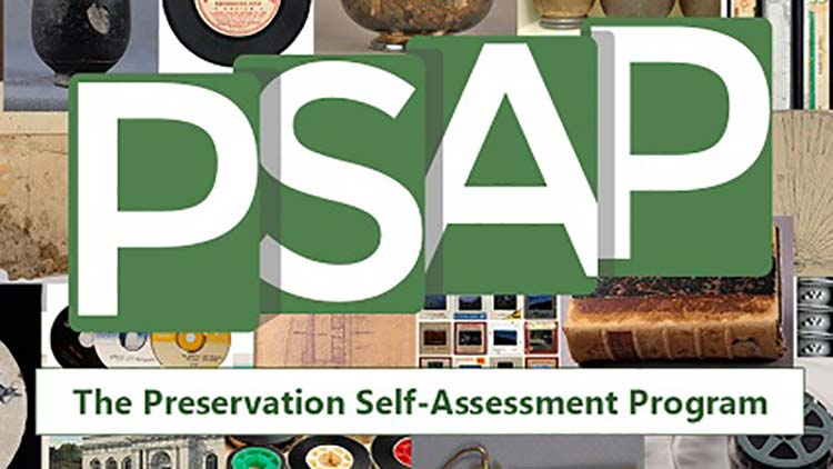 PSAP: Preservation Self Assessment Program Logo