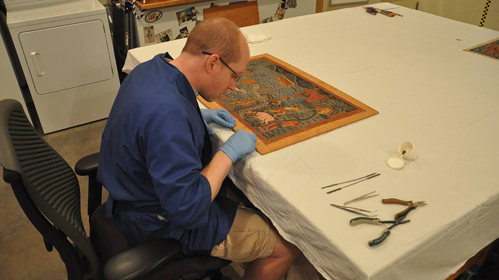 Collections Care: Balinese Painting Mounts