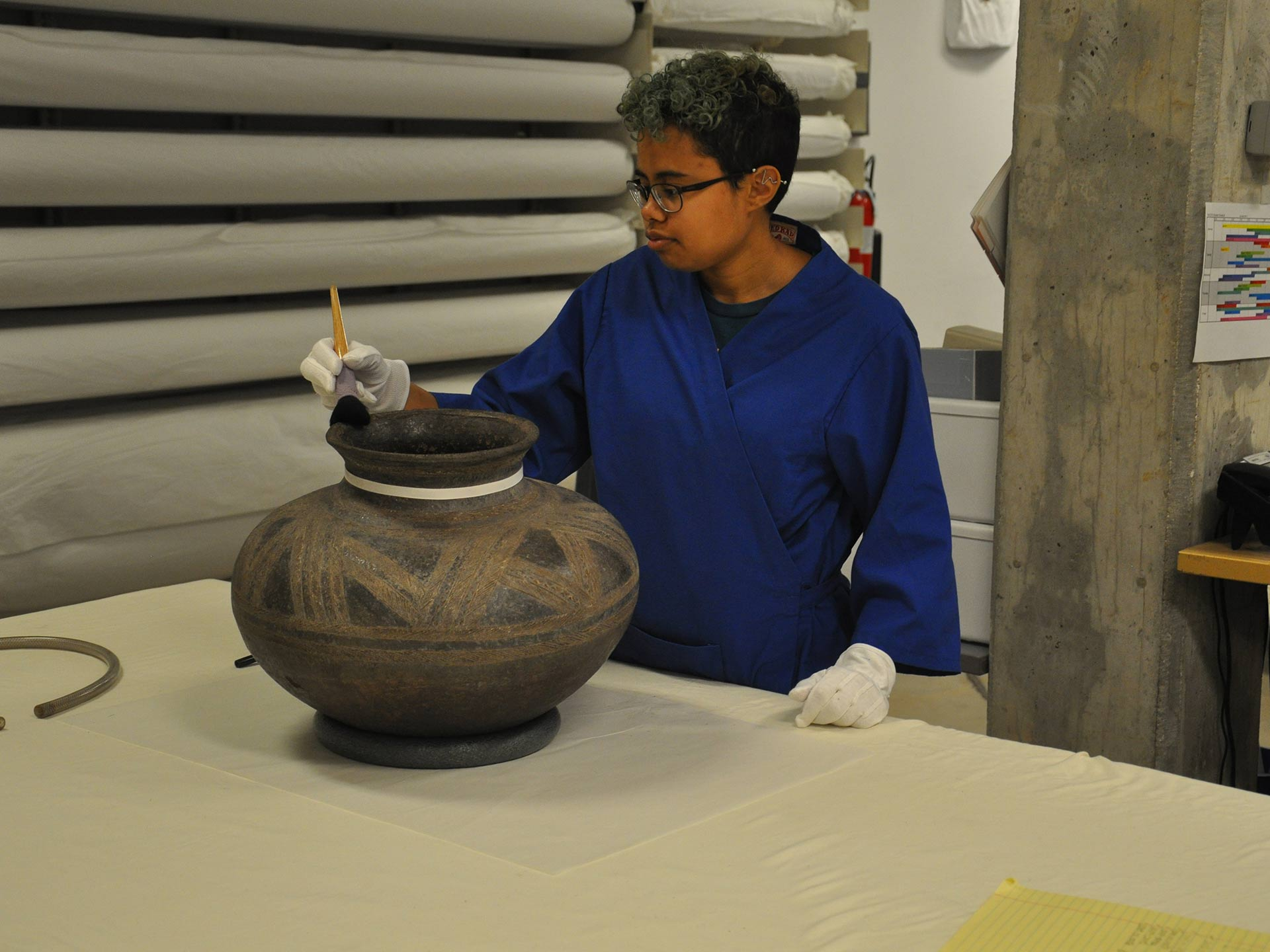 Collections Care: Cleaning African Ceramic Pots overview image