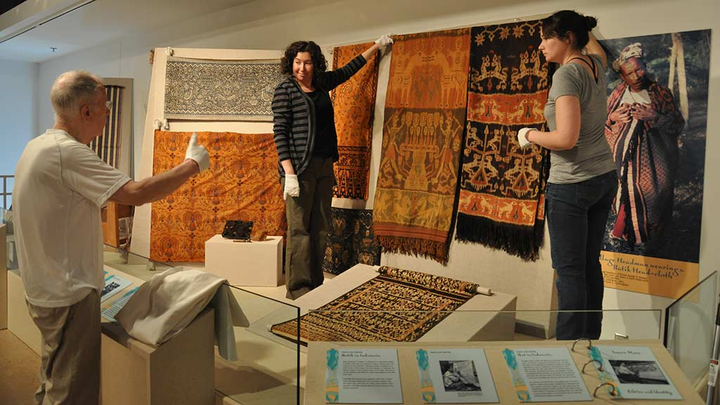 Small changes made to the Southeast Asia and Oceania: Crossroads exhibit