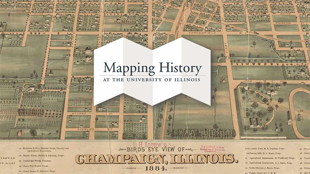 UI150: Campus & Champaign-Urbana Map Archives overview thumbnail