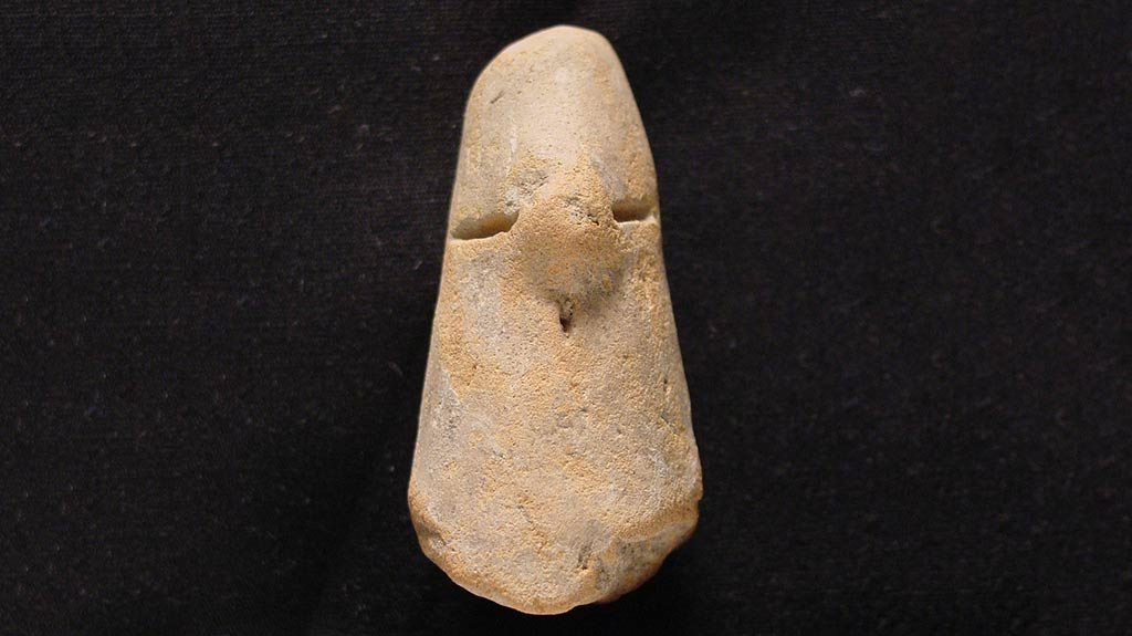 Figurine Fragment: Head (2000.17.0099)