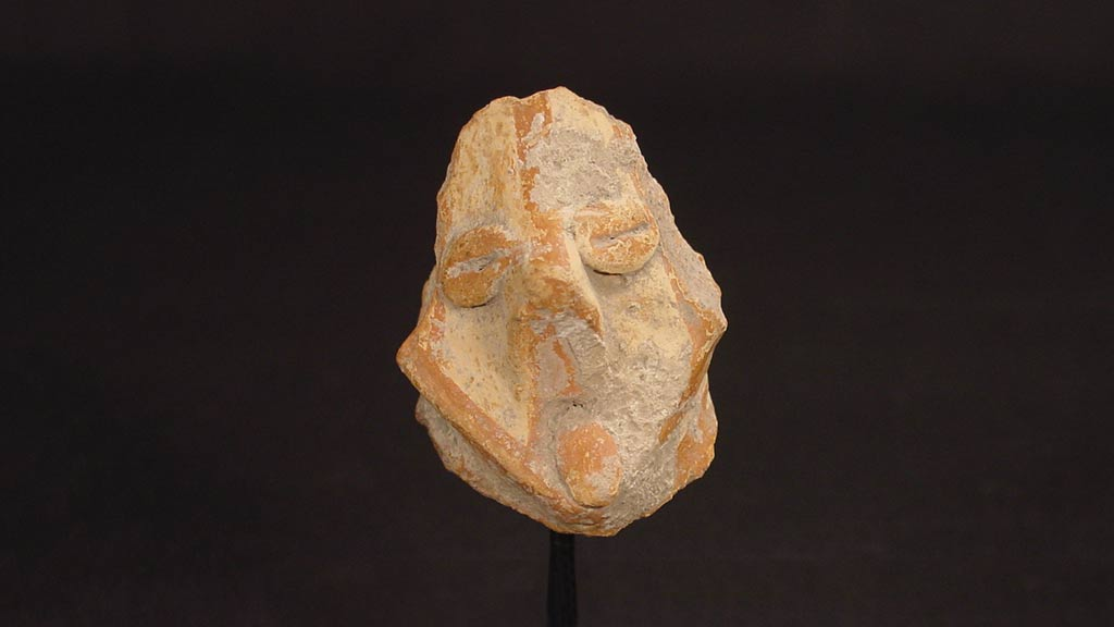 Figurine Fragment: Head (2000.17.0107)