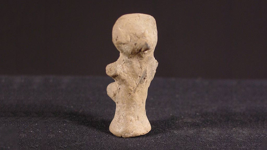 Figurine Fragment: Head (2000.17.0067)
