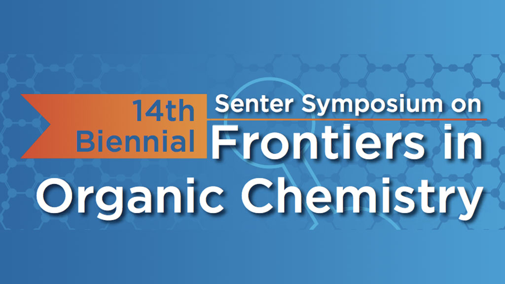 14th Biennial Senter Symposium on Frontiers in Organic Chemistry