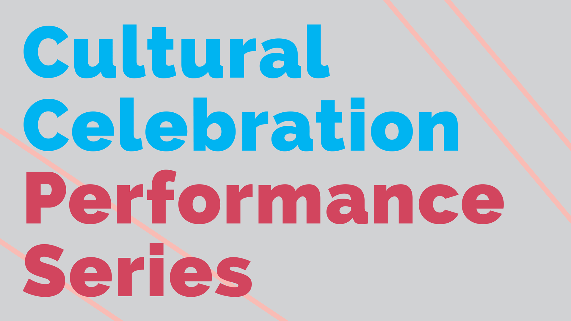 March Cultural Celebration Series logo 3/26/2017