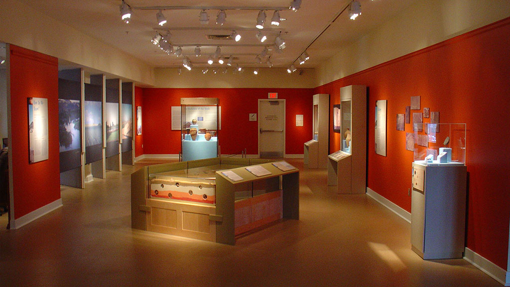 A photo of the Ancient Egypt exhibit