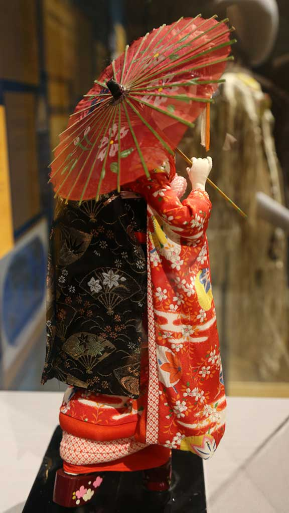 Japanese doll profile