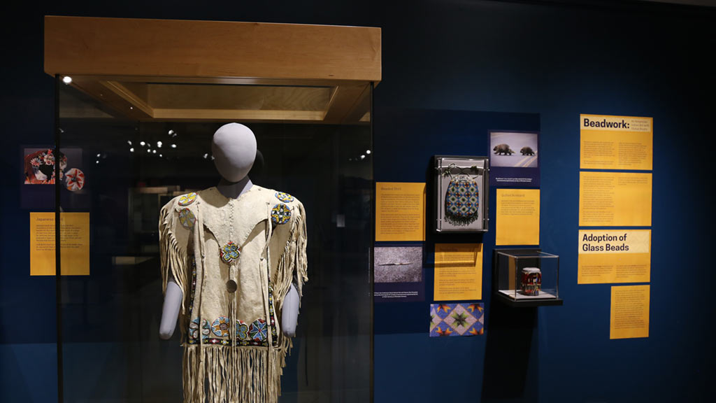 Exhibit Photo: Beadwork: An American Indian Art with Global Roots