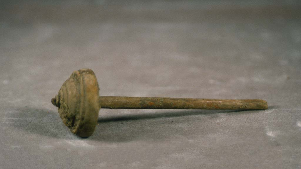 simple wooden spindle