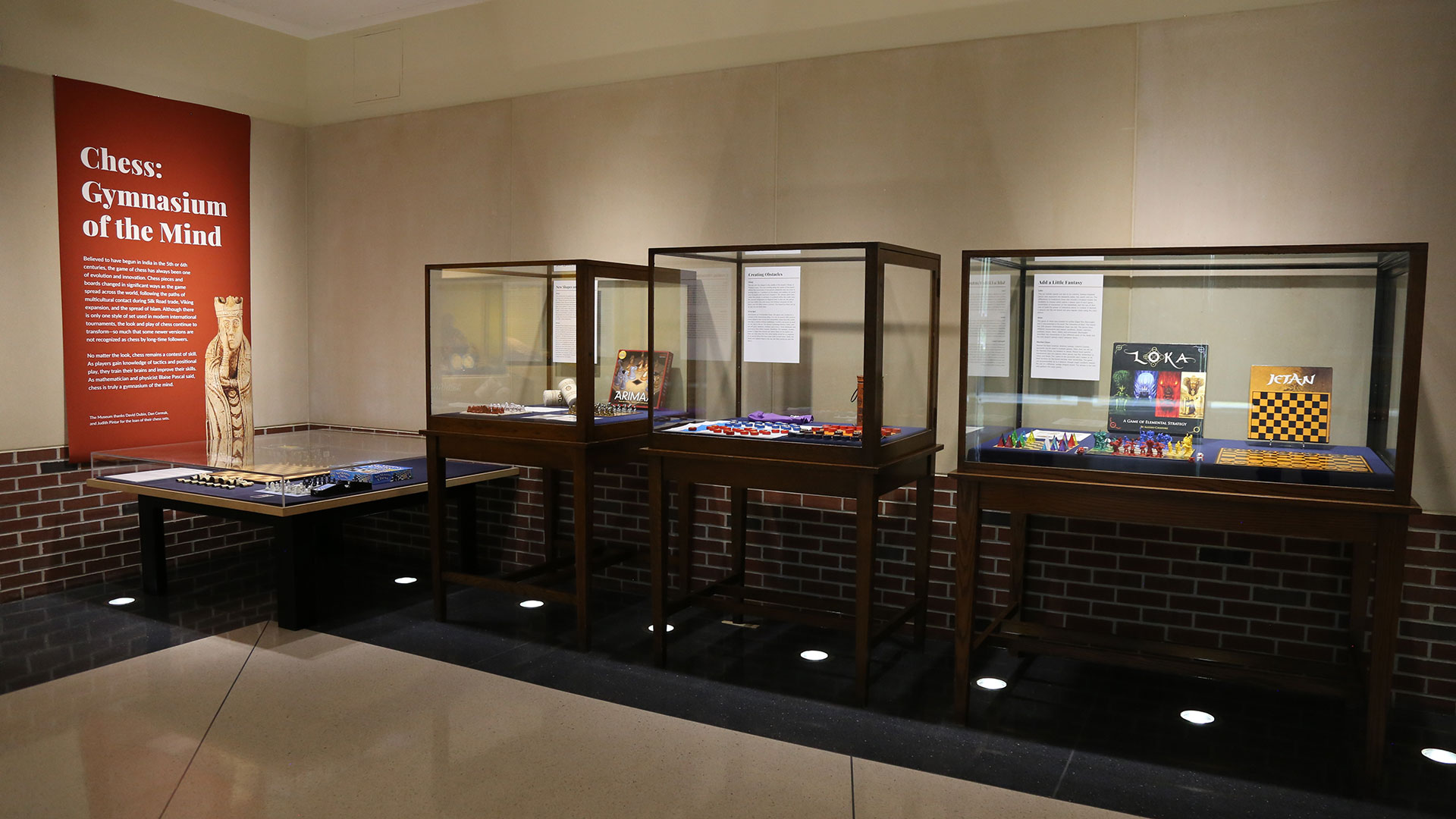 chess exhibit overview