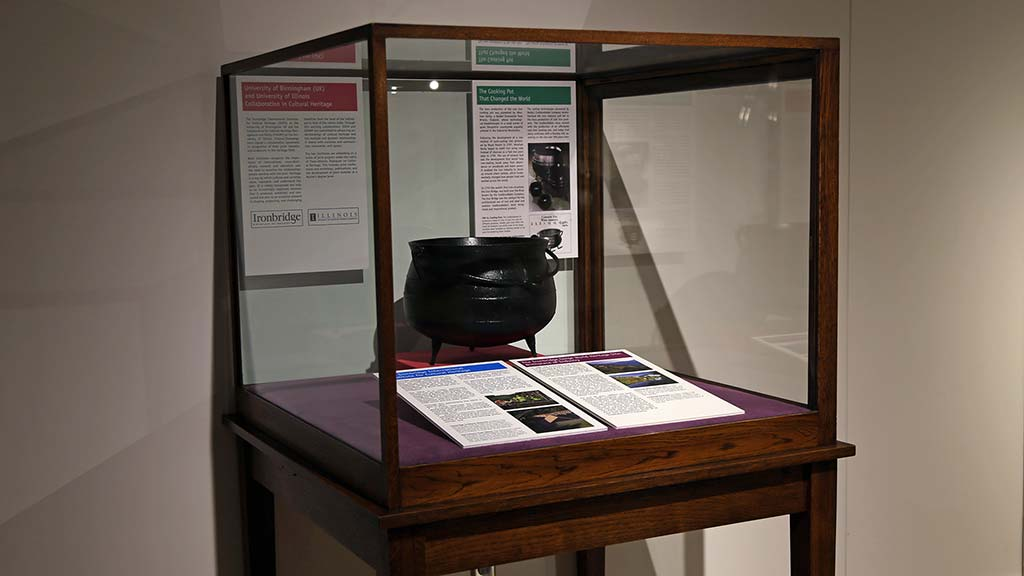 Exhibit Photo: The Cooking Pot That Changed the World
