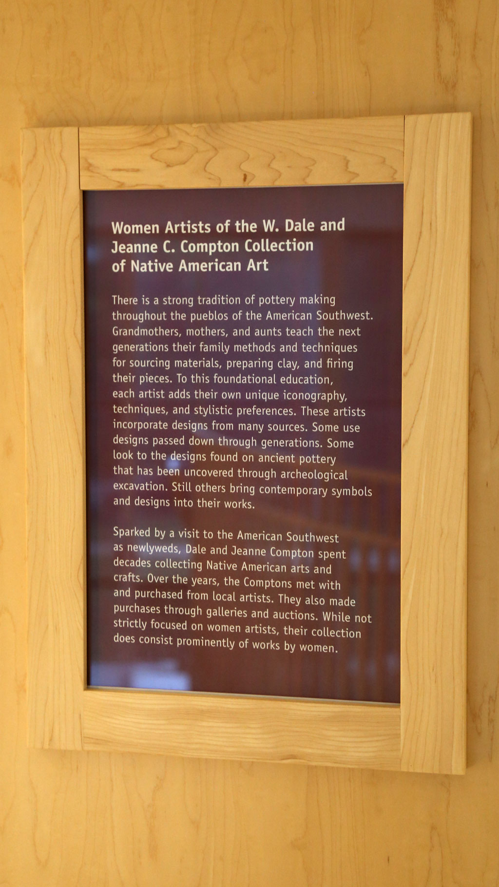 general information about the exhibit