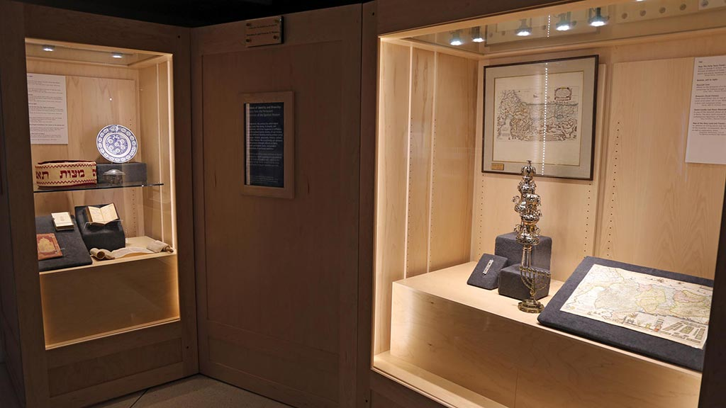 Exhibit Photo: Symbols of Identity and Diversity: Judaica from the Permanent Collection of the Spurlock Museum