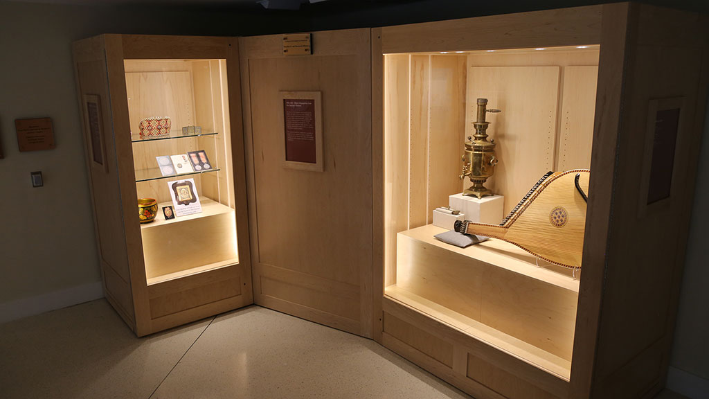 two cases with european artifacts