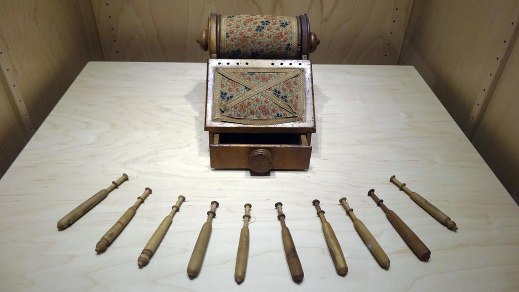 Exhibit Photo: Textile Manufacturing and Tools of Female Independence
