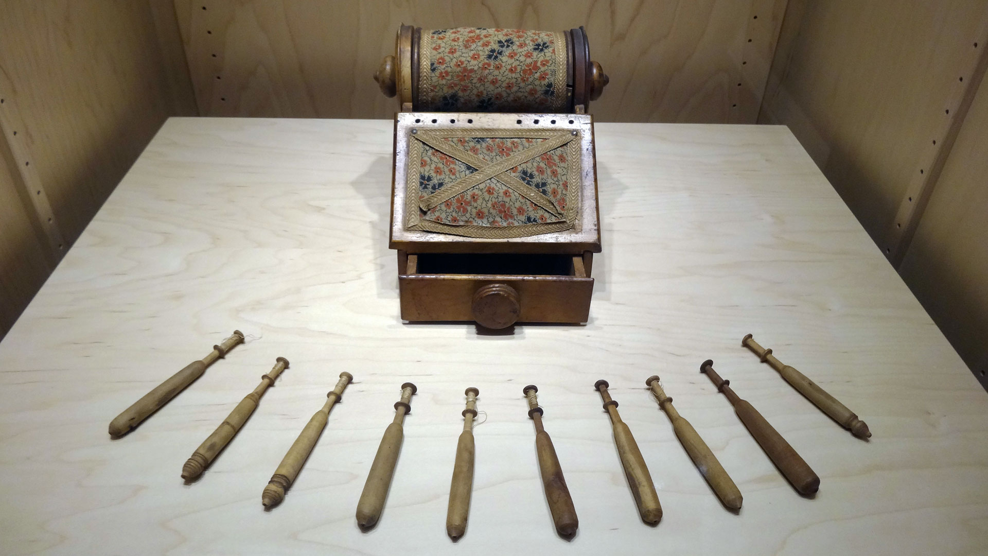 Textile Manufacturing and Tools of Female Independence overview photo