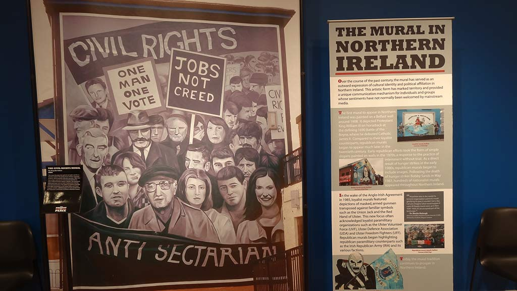 anti sectarian poster drawing, stand poster