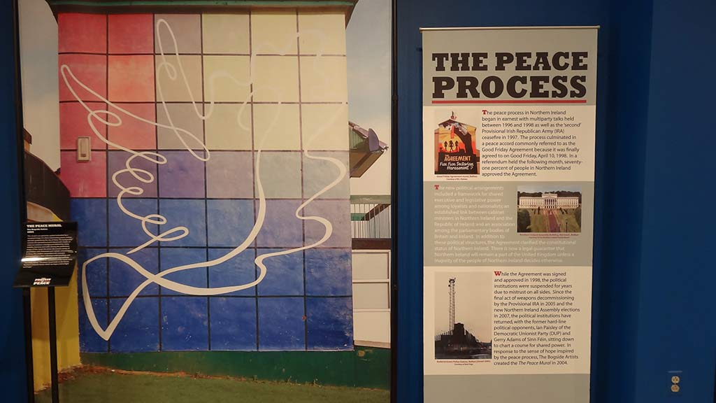 the peace process stand poster