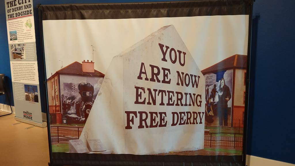 you are now entering free derry poster