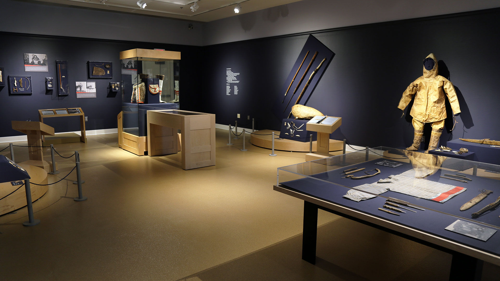 north of the northern lights exhibits spurlock museum u of i