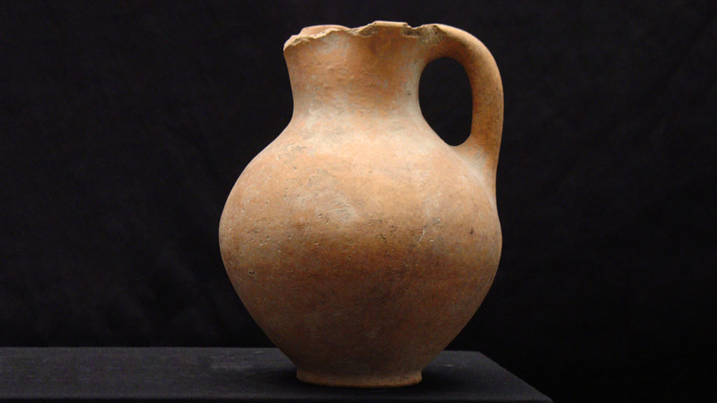 earthenware pitcher
