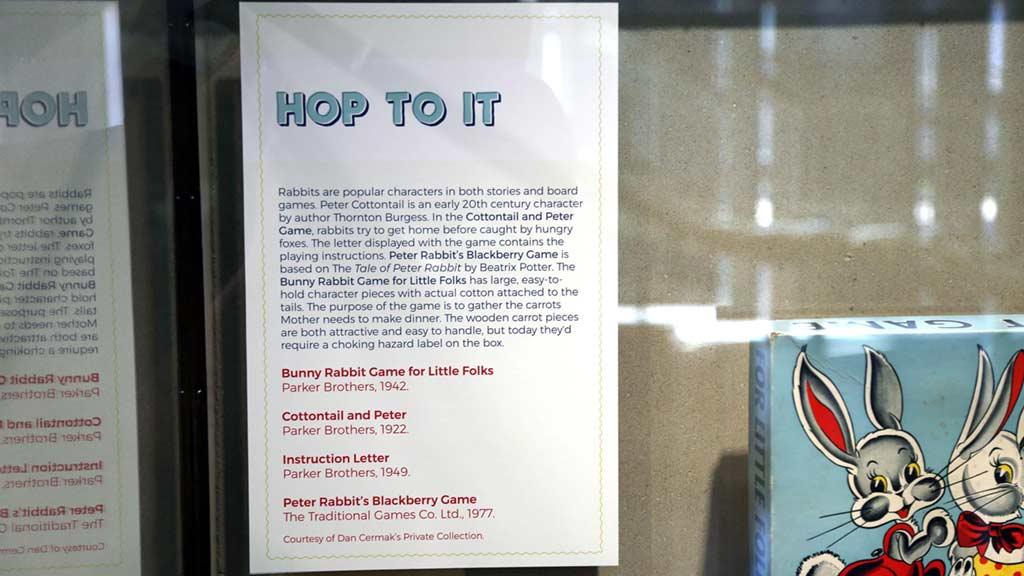 Past Time Pastimes: Vintage Board Games, Exhibits, Spurlock
