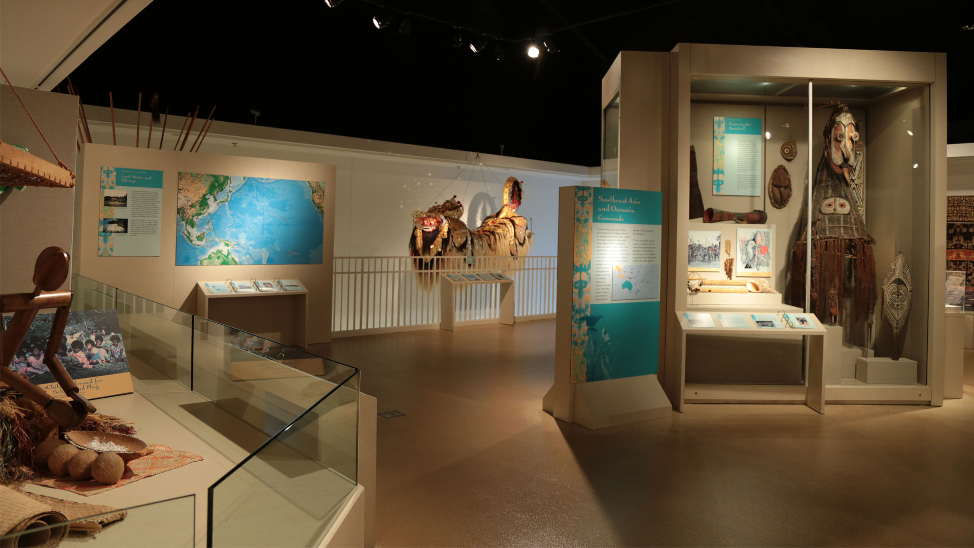 Southeast Asia and Oceania gallery overview photo
