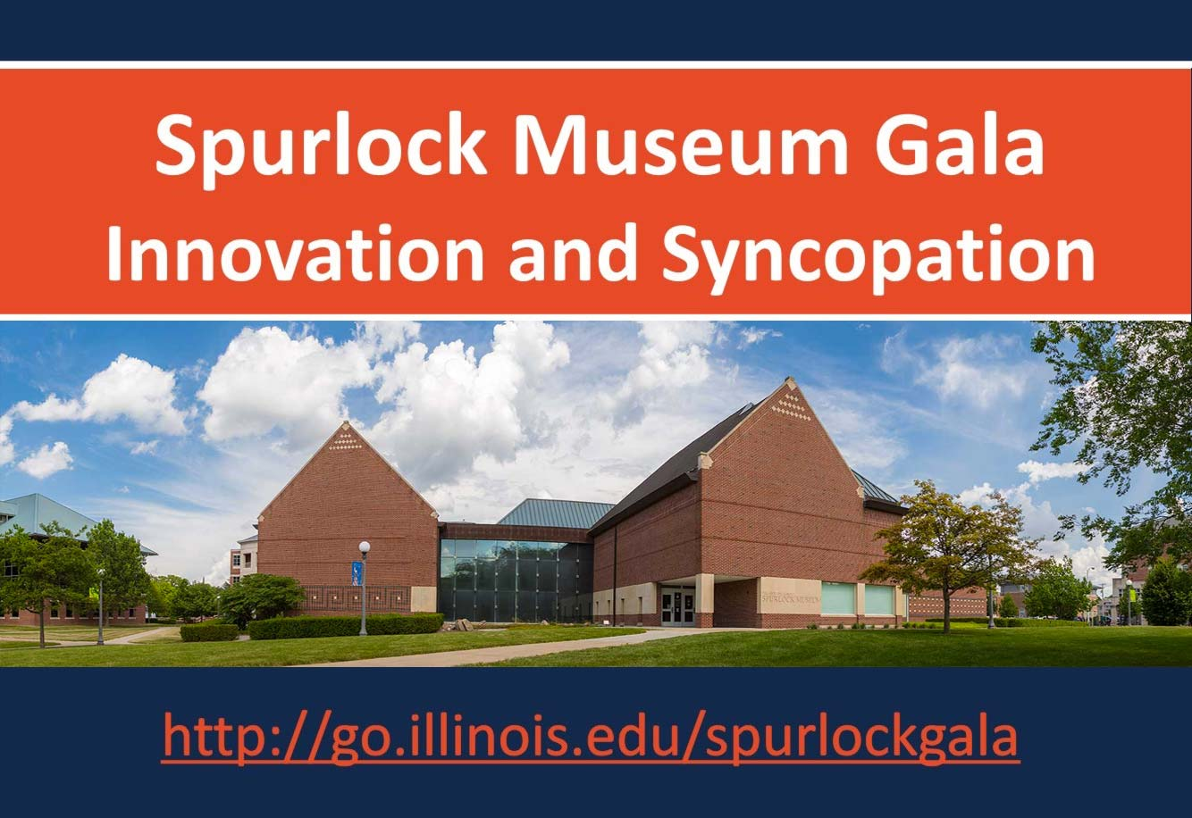 Spurlock Museum Gala Innovation and Syncopation title image