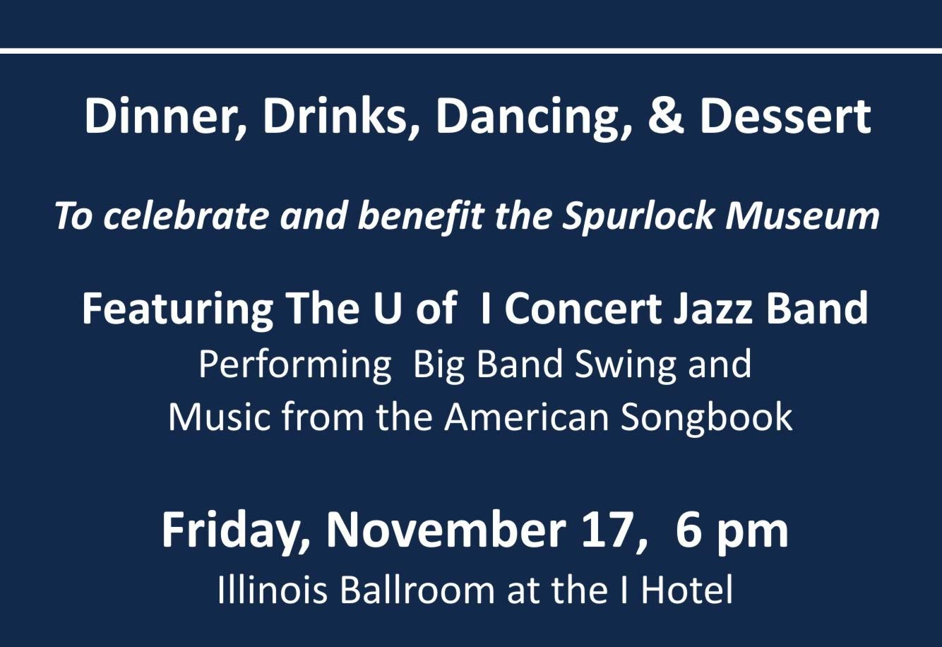 Spurlock Museum Gala Innovation and Syncopation details (repeated in link)